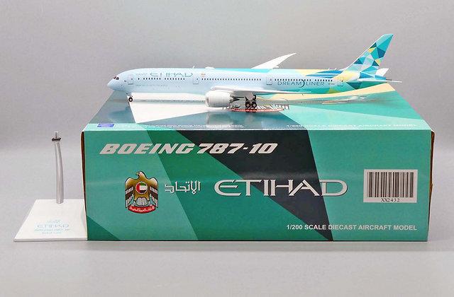 Etihad B787-10 Reg: A6-BMH JC Wings Diecast Model Scale 1:200 XX2432