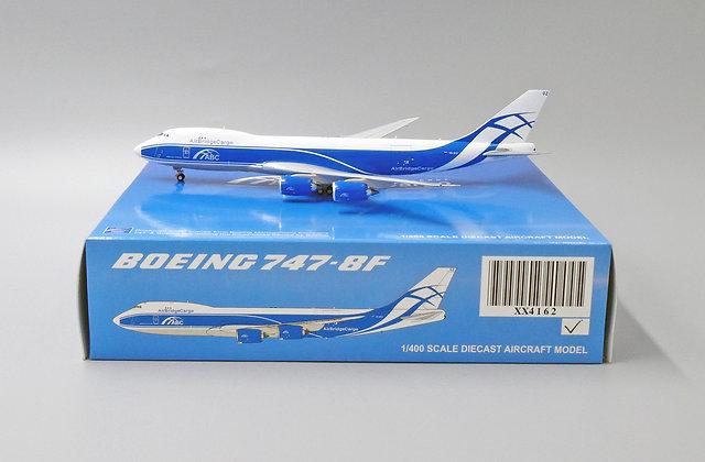 AirBridgeCargo B747-8F Reg: VQ-BGZ JC Wings Scale 1:400 Diecast Model XX4162