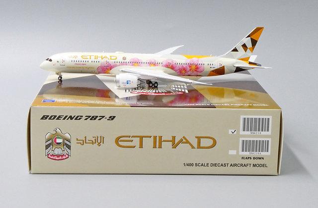 /LAST/ Etihad B787-9 Choose Japan Reg A6-BLK JC Wings Scale 1:400 Diecast XX4218