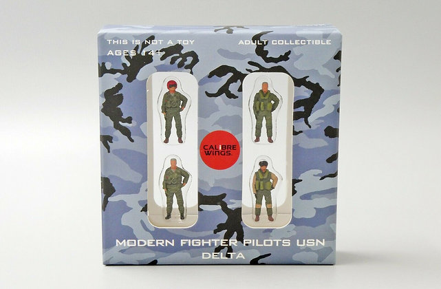 Modern Fighter Pilots USN Set Delta Calibre Wings Scale 1:72 CA72WS04