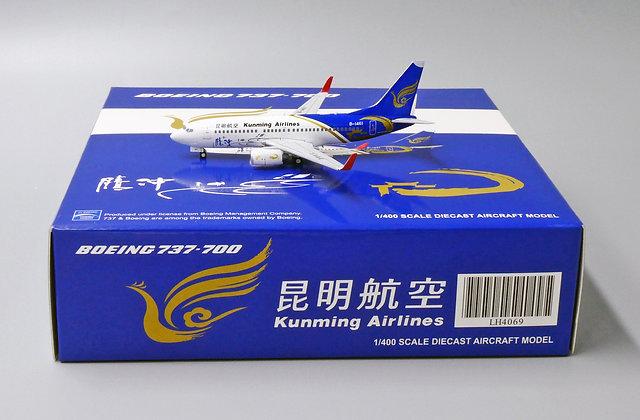 Kunming B737-700 Reg: B-1461 JC Wings Scale 1:400 Diecast Models LH4069