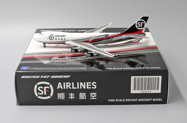 SF Express B747-400F Reg:B-2422 JC Wings Scale 1:400 Diecast Model XX4069