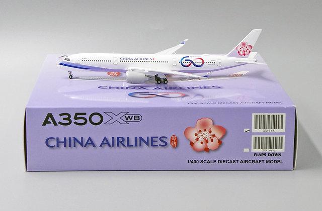 China Airlines A350XWB Reg: B-18917 JC Wings Scale 1:400 Diecast Model XX4168