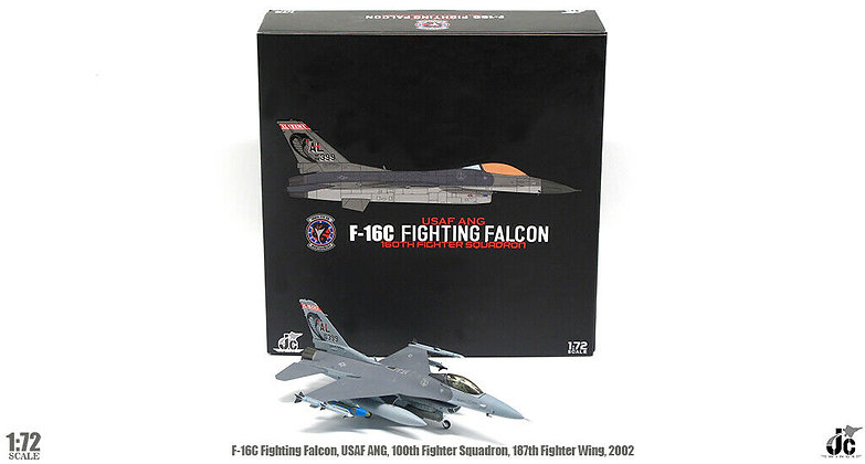 F-16C, Alabama National Guard,100th fighter squadron, 2002 1/72 JCW-72-F16-008