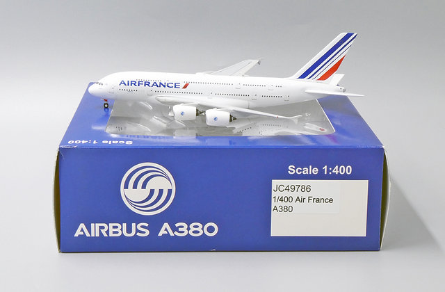 Air France A380 JC Wings Scale 1:400 Diecast Model JC49786