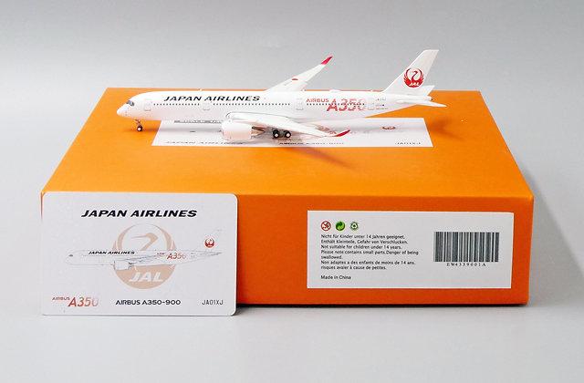 Japan Airlines A350-900 Reg: JA01XJ 1:400 Diecast Flaps Down EW4359001A