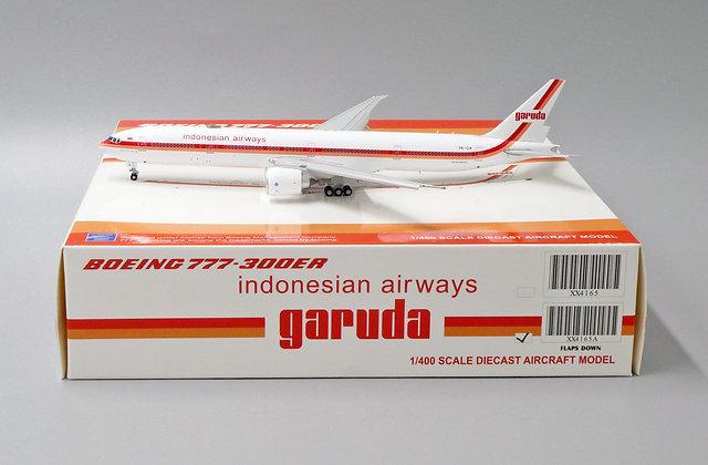 Garuda Indonesian Airways B777-300ER Reg:PK-GIK Flap Down 1:400 JC Wings XX4165A