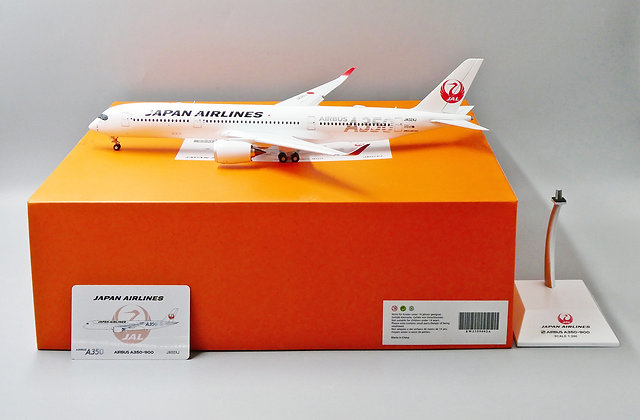 JAL A350-900 Reg: JA02XJ EW Wings Flaps Down Scale 1:200 Diecast EW2359002A