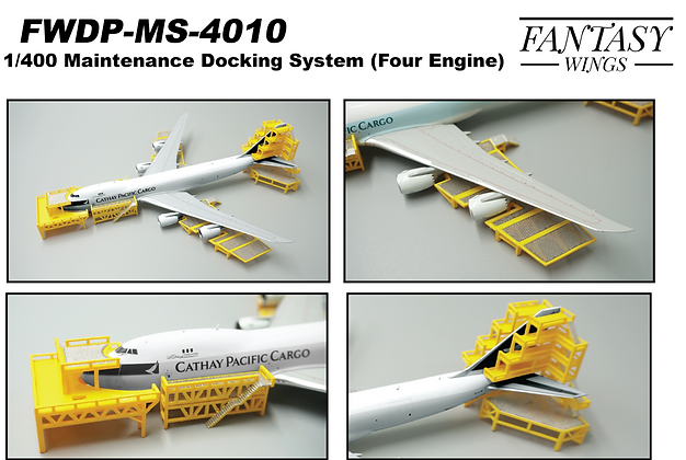 Maintenance Docking System (Four Engines) Scale 1:400 FWDP-MS-4010 Fantasywings