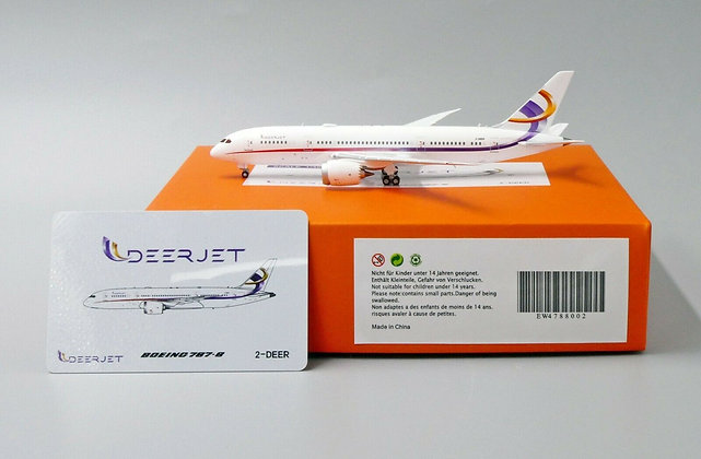 Deerjet B787-8 Reg: 2-DEET EW Wings Scale Diecast Model 1:400 EW4788002