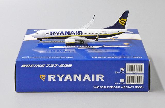 Ryanair B737-800 Reg: 9H-QAA JC Wings Scale 1:400 Diecast Model XX4266