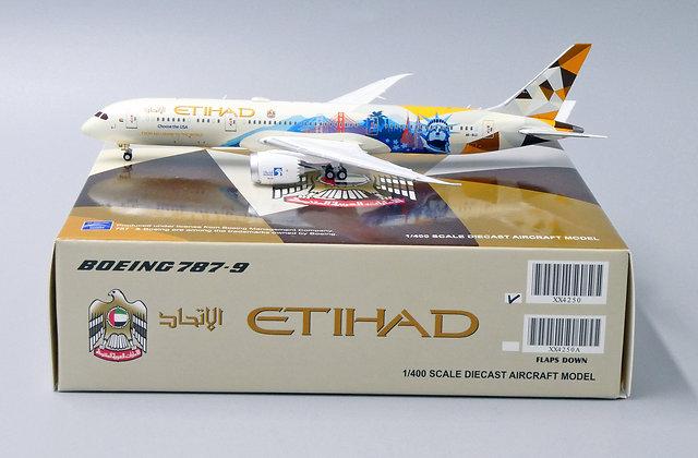 Etihad B787-9 Choose the USA Reg: A6-BLC JC Wings Scale 1:400 Diecast XX4250