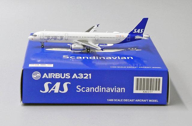 SAS A321 Reg: OY-KBH Scale 1:400 JC Wings Diecast Model XX4257