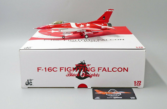F-16C, RSAF, Black Knight 6, JC Wings 1/72 Diecast JCW-72-F16-002