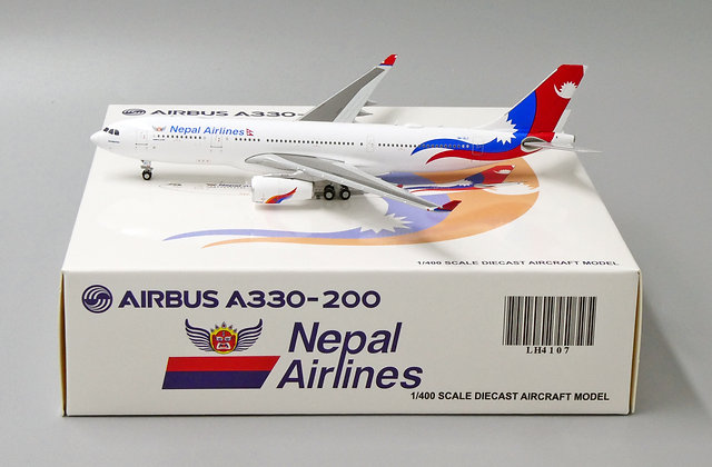 Nepal Airlines A330-200 Reg: 9N-ALY JC Wings 1:400 Diecast Models LH4107
