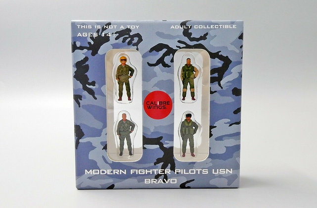 Modern Fighter Pilots USN Set Bravo Calibre Wings Scale 1:72 CA72WS02 的副本