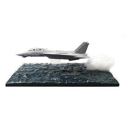 Calibre Wings Ocean Low Pass Resin Diorama Display Base for F-14 Tomcat CA72DB01