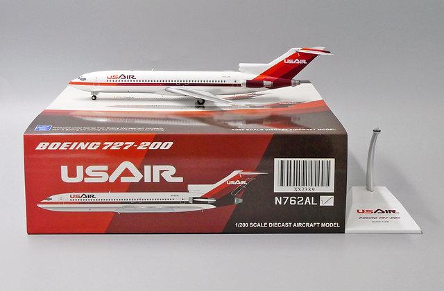 US Airways B727-200 Reg: N762AL JC Wings Scale 1:200 Diecast model XX2389