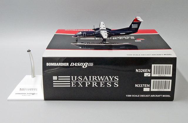 US Airways Express Dash8-300 Reg: N326EN JC Wings 1:200 Diecast Model XX2274