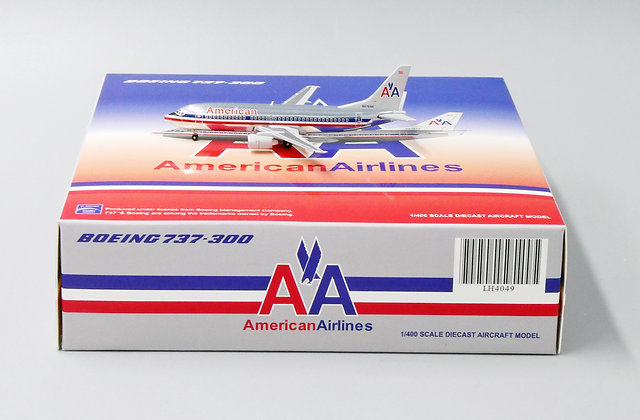 American Airlines B737-300 Reg: N678AA JC Wings Scale 1:400 Diecast LH4049