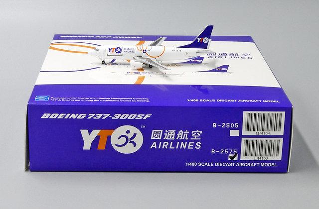 YTO Cargo B737-300(SF) Reg: B-2575 JC Wings Scale 1:400 Diecast Model LH4105