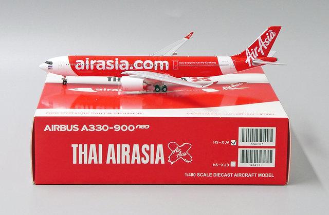 Thai Airasia A330-900neo Reg: HS-XJA JC Wings Scale 1:400 Diecast Model XX4185