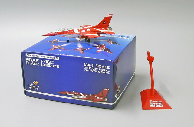 Calibre Wings Singapore Air Force 1/144 F-16C Black Knights Team No.2