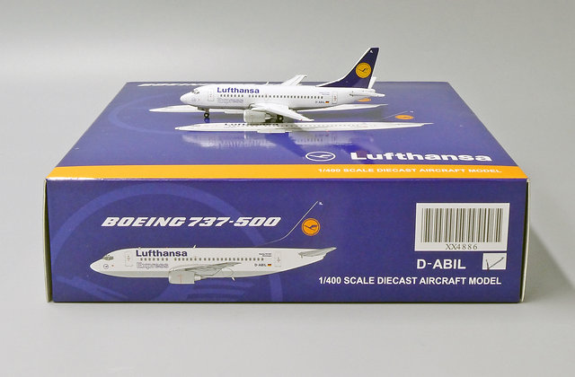Lufthansa B737-500 Reg: D-ABIL JC Wings Scale 1:400 Diecast Model XX4886