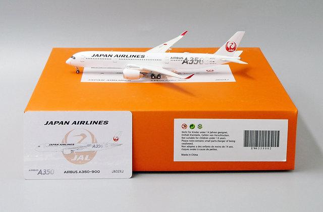 JAL A350-900 Reg: JA02XJ JC Wings Scale 1:400 Diecast Model EW4359002