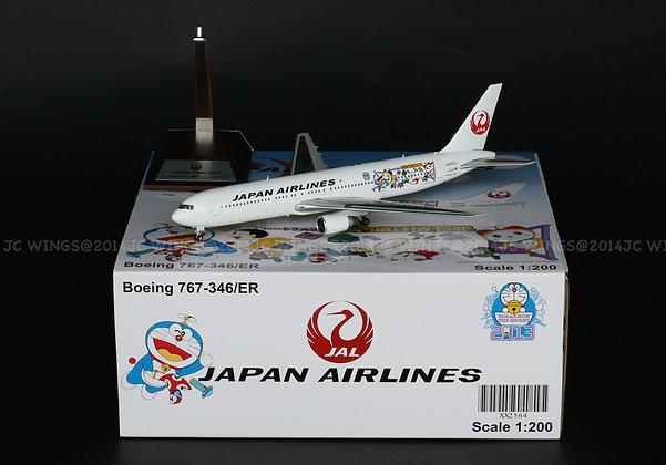 JAL B767-300 Doraemon Reg:JA656J JC Wings 1:200 Diecast Models XX2564