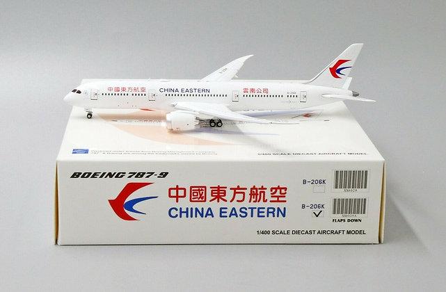 China Eastern B787-9 Reg:B206K FLAP DOWN Jc wings 1:400 Diecast Model XX4029A