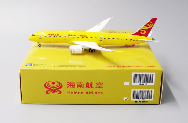 Hainan B787-9 Reg: B-7302 Flap Down Version JC Wings Diecast 1:400 KD4097A