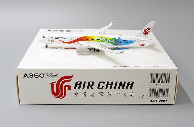 "Air China A350-900 "" Beijing Expo2019 "" B-1083 FLAP DOWN VERSION 1:400 XX4058A"