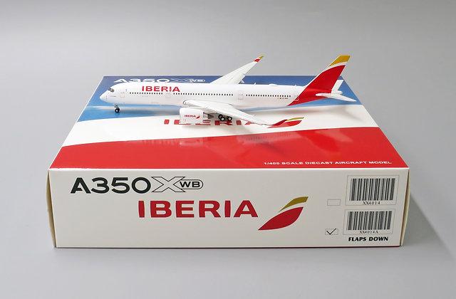 Iberia A350-900 Reg:EC-MXV FLAPS DOWN Version Scale 1:400 XX4014A
