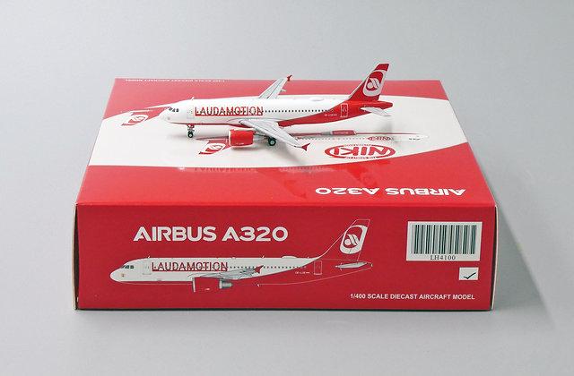 Laudamotion A320 Reg: OE-LOE Scale 1:400 Diecast Model JC Wings LH4100