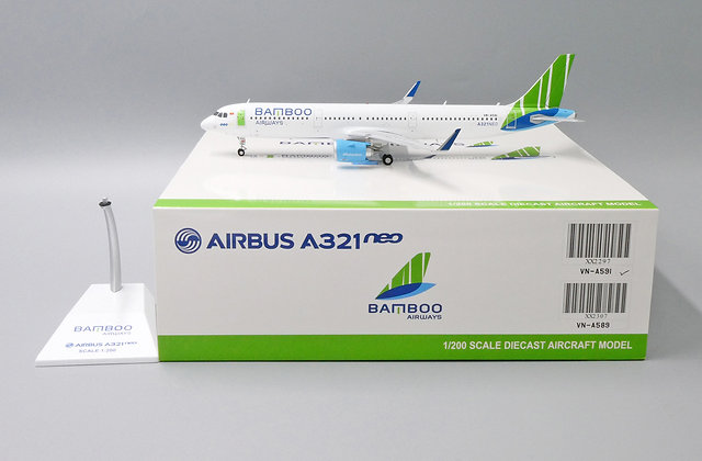 Bamboo Airways A321neo Reg: VN-A591 JC Wings Scale 1:200 Diecast Model XX2297