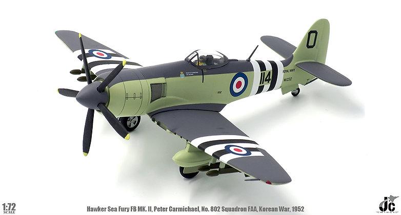 Hawker Sea Fury, Royal Navy, 802 Squadron, Korean War 1952 1/72 JCW-72-SFURY-001