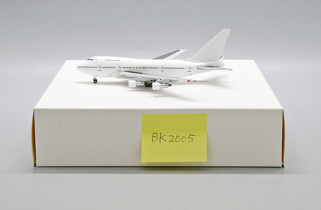 Blank B747SP Scale 1:400 JC Wings Diecast model BK2005