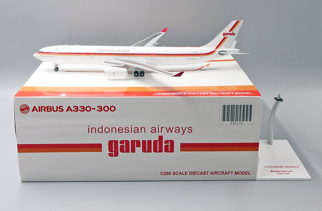 Indonesian Airways A330-300 Reg: PK-GHD JC Wings 1:200 Diecast model XX2270