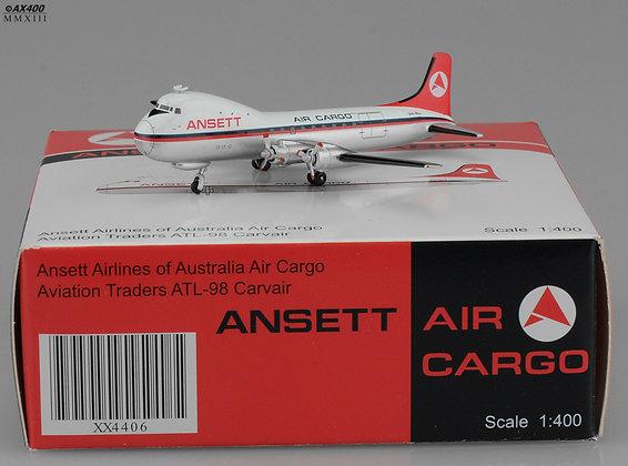 Ansett Air Cargo ATL-98 VH-INJ JC 1:400 Diecast Models XX4406