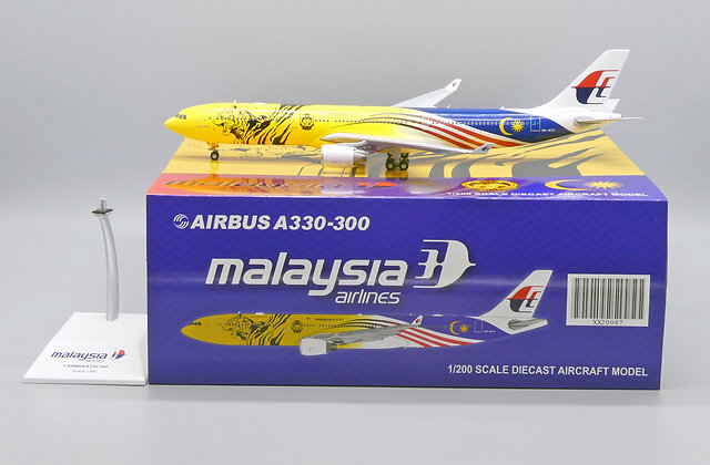 Malaysia Airlines A330-300 Reg: 9M-MTG JC Wings Scale 1:200 Diecast XX20087