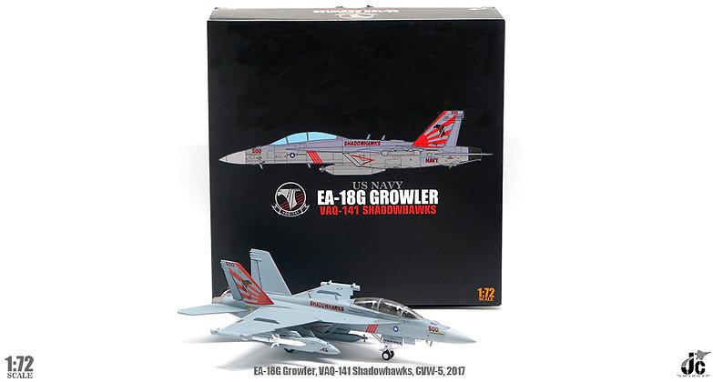 US NAVY, EA-18G, VAQ-141 Shadowhawks, CVW-5,2017 1/72 JCW-72-F18-006