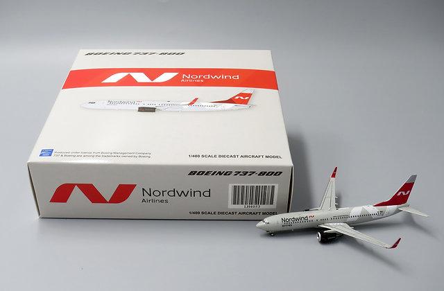Nordwind B737-800 Reg:VQ-BDC Scale 1:400 JC Wings Diecast LH4053