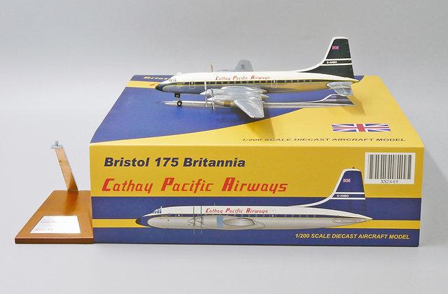 //DEFECTIVE//Bristol 175 Britannia Reg:G-ANBO 1:200 Diecast Model XX2649