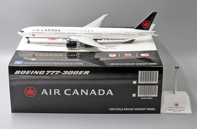 /DEFECTIVE/Air Canada B777-300ER  Go Canada Go  FLAPS DOWN 1:200 Diecast XX2133A