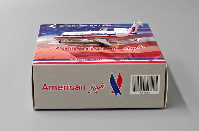 American Eagle ERJ145 Reg:N691AE Scale 1:400 Diecast MODEL XX4016