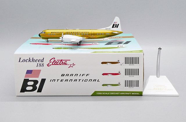 Braniff International L188 Electra Reg: N9710C Scale 1:200 Diecast XX2385