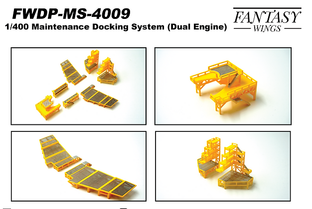 Aircraft maintenance set Dual Engine version 1:400  Fantasywings FWDP-MS-4009