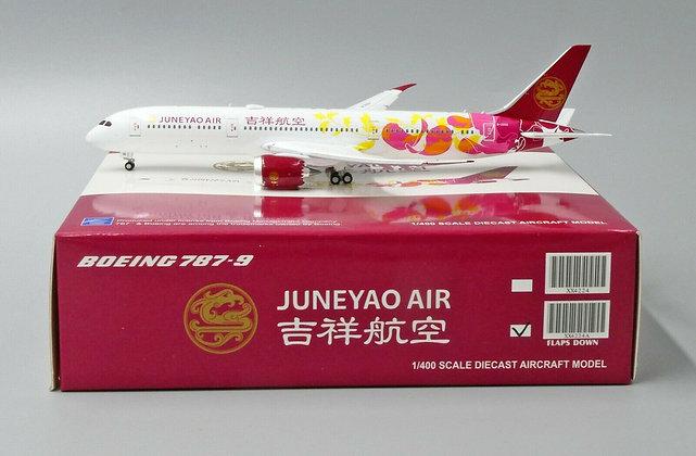 Juneyao Air B787-9 Reg: B-20D1 FLAPS DOWN JC Wings Scale 1:400 Diecast XX4224A