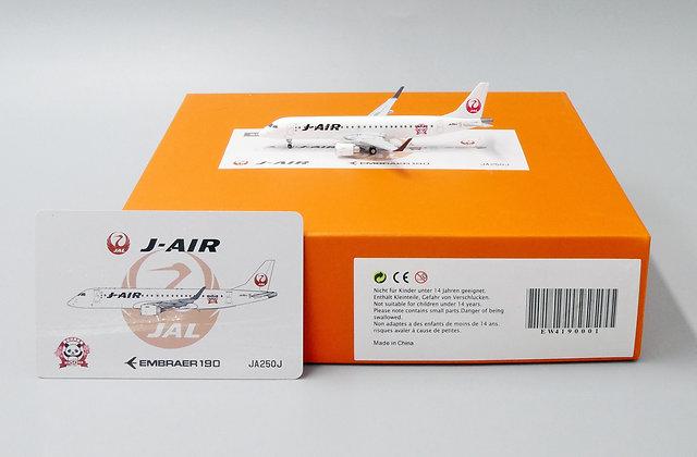 J-Air E190 Reg:JA250J With Aircraft tug truck JC Wings 1:400 EW4190001